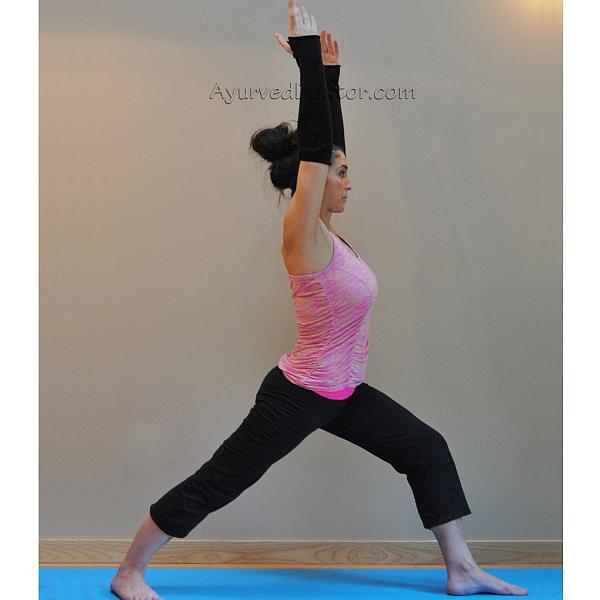 Viravadrasana, Yoga pose