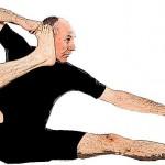 Akarna Dhanurasana : Yoga Pose