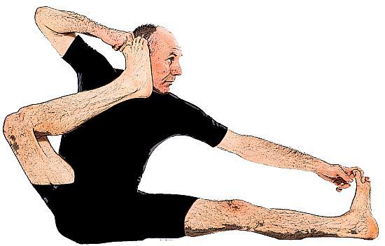 Akarna Danurasana yoga pose