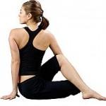Ardha Matsyendrasana : Yoga Pose