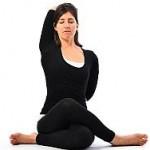 Gomukhasana : Yoga Pose