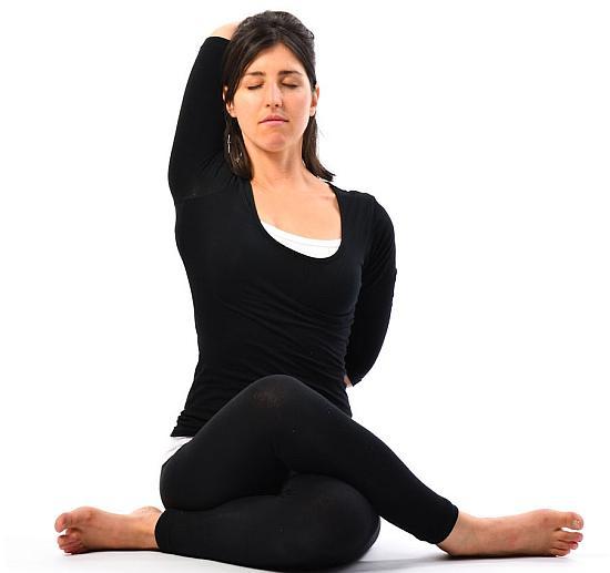 Gomukhasana Yoga Pose