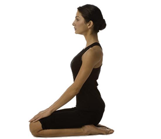 vajrasana Yoga Pose